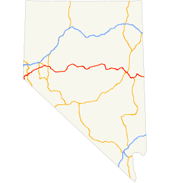 US 50 (NV) map.svg