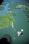 US Army Rangers parachute into Lake Lanier 140508-A-PP104-151.jpg