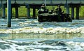 US Navy 050910-M-5901F-004 U.S. Marines aboard an amphibious assault vehicle (AAV) search the areas around the Chalmette Bridge for survivors of Hurricane Katrina.jpg