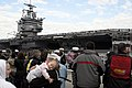 US Navy 061118-N-1831S-048 Sailors assigned to USS Enterprise (CVN 65) return to Naval Station Norfolk following operations in support of the global war on terrorism.jpg