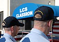US Navy 070215-N-9909C-022 Sailors from USS Freedom (LCS 1) attend the ribbon cutting ceremony for the Littoral Combat Ship Class Squadron at Naval Station San Diego.jpg