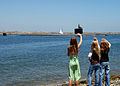 US Navy 090623-N-1126G-001 Family members wave good-bye as the attack submarine USS Topeka (SSN 754) departs San Diego harbor for a scheduled deployment to the western Pacific Ocean.jpg