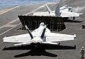 US Navy 100512-N-4236E-310 Aircraft prepare to launch from the aircraft carrier USS Dwight D. Eisenhower (CVN 69).jpg