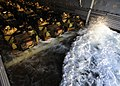 US Navy 110929-N-WJ771-070 A wave rolls into the well deck of the forward-deployed amphibious transport dock ship USS Denver (LPD 9) where amphibio.jpg