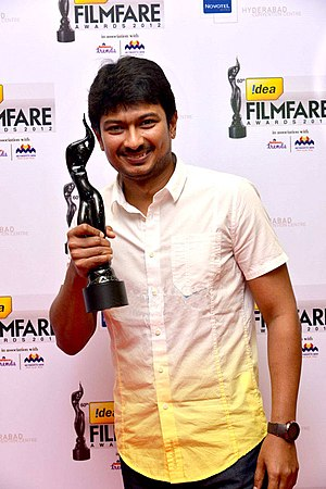 Udhayanidhi Stalin - Stalin at 60th South Indian Flimfare Awards, 2013