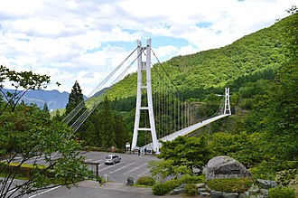 Ueno, Gunma - Sky bridge at Ueno, Gunma