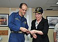 Under Secretary Gottemoeller Receives a Commemorative Ship's Coin From Capt. Weillenman (13129327365).jpg