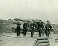 Unidentified Union Officers and Columbiad Cannon.jpg