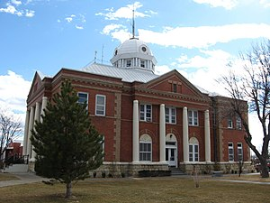 Union County, New Mexico - Image: Union County Court House