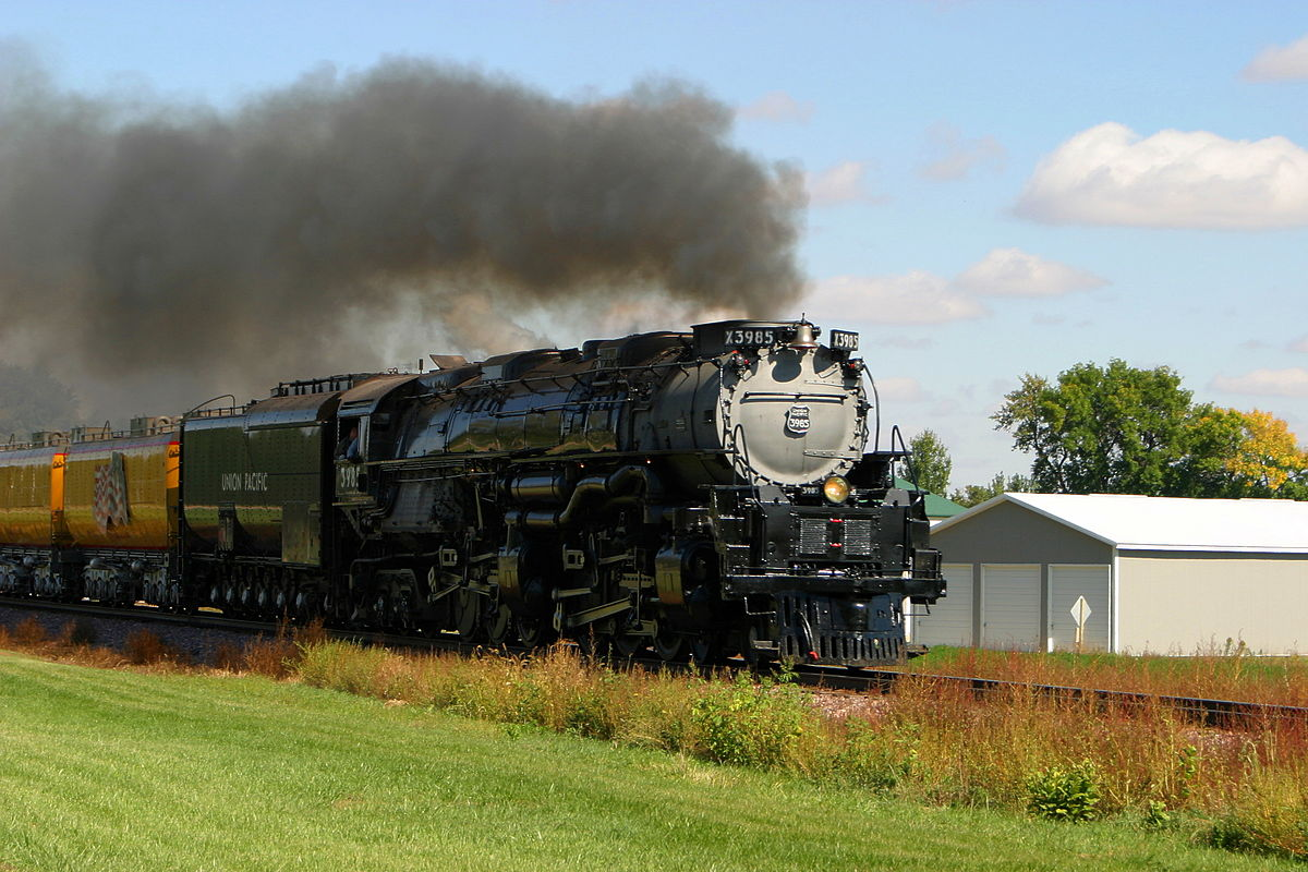 Big Boy Train Toys : Union pacific challenger wikipedia