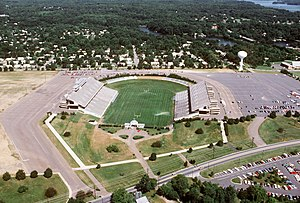 2008 NCAA Division I Men's Lacrosse Championship - Navy–Marine Corps Memorial Stadium, location of most highly attended lacrosse quarterfinal in NCAA history