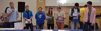 University of Nottingham Students' Union - Image: University Park MMB «06c Union Council