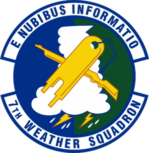 7th Weather Squadron - 7th Weather Squadron Emblem