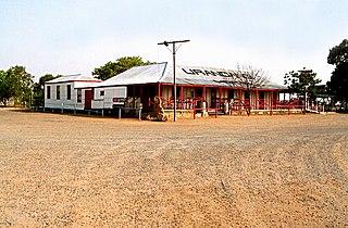 Urandangi Town in Queensland, Australia