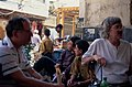 Urban Landscape and Scenes of Everyday Life, Damascus (دمشق), Syria - Coffeehouse near Ummayad Mosque - PHBZ024 2016 1393 - Dumbarton Oaks.jpg
