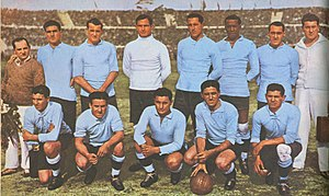 Uruguay national football team - The team that beat Argentina in the final match of the 1930 FIFA World Cup to win Uruguay's first FIFA World Cup.