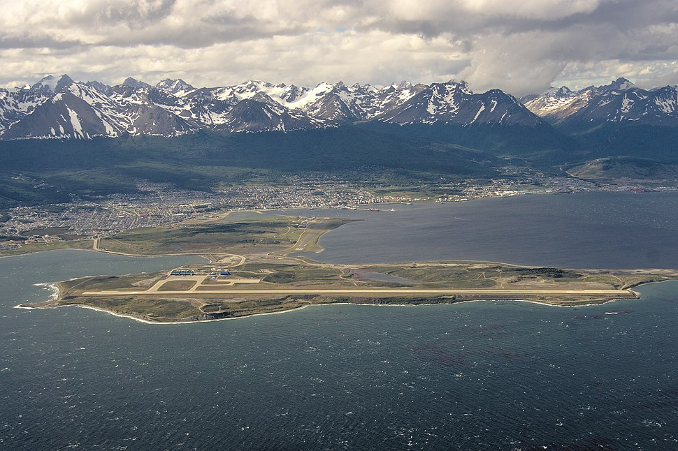 Ushuaia Airport Aerial Image