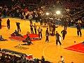 Utah Jazz warming up 2005.jpg