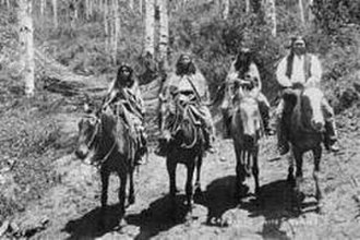National and ethnic cultures of Utah - Utes 1878