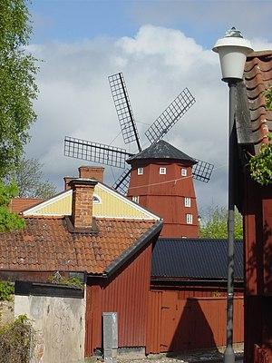 Strängnäs - Image: Väderkvarn, Strängnäs