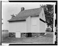 VIEW FROM NORTHEAST - John Neilson House, Bemis Heights, Stillwater, Saratoga County, NY HABS NY,46-BEMHI,1A-2.tif