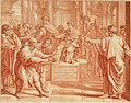 VII tabulae Raphaelis Urbin (graphic) - longe celeberrimae quas hortatu P. Pauli Rubenij Eq. ingenti sumptu emptas in Angliam advehi jussit serenissimus Rex Carolus I. et quibus adservandis magnificam (14763651931).jpg