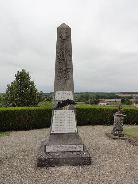 Val-d'Ornain (Meuse) Mussey, monument aux morts
