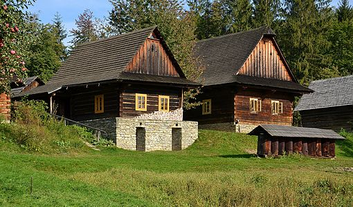 Wallachian Open Air Museum, Czech Republic - Wallachian village, Roznov