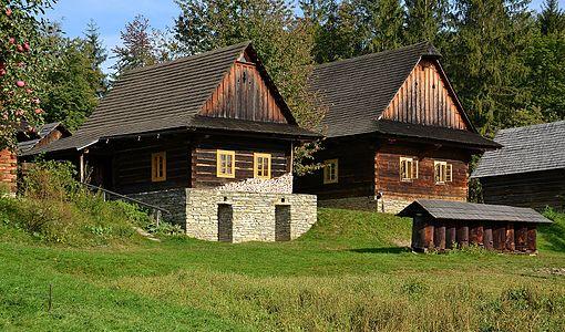 Wallachian Open Air Museum, Czech Republic - Wallachian village, Roznov