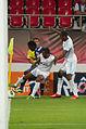 Valais Cup 2013 - OM-FC Porto 13-07-2013 - Silvestre Varela, Alexis Roma et Kassim Abdallah.jpg