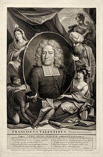 François Valentijn Dutch preacher, missionary, and historian