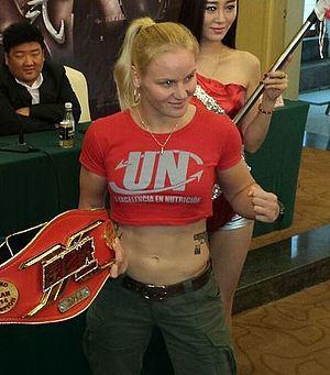 Valentina Shevchenko (fighter) - Image: Valentina Shevchenko 2014