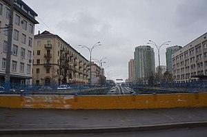 Solomianka District - Image: Valeri Lobanovsky Avenue