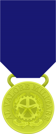 valor militare medal