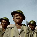 Valse kleurenportret van oom Kappa militair in het reservekorps te Tondano.jpg