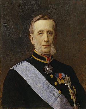 Pyotr Valuyev - Portrait by Ivan Kramskoi.