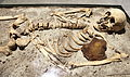 Vampire skeleton of Sozopol in Sofia PD 2012 06.JPG