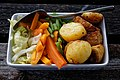 Vegetable side dish for Sunday roast at The Black Bull, Fyfield, Essex, England.jpg