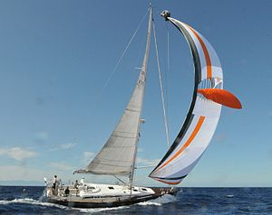 Nautor's Swan - A Swan 53 (2004–2015) at the Swan Cup 2008.