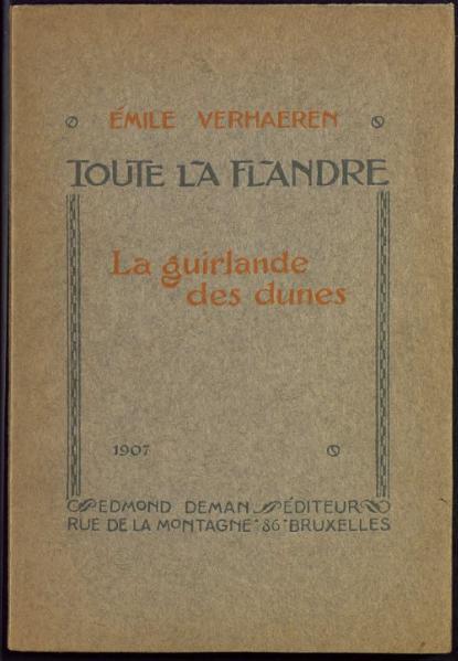 File:Verhaeren - La Guirlande des dunes, 1907.djvu