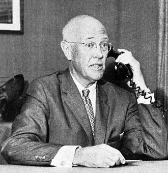 Vern Oliver Knudsen - Vern Knudsen, UCLA Chancellor (1960)