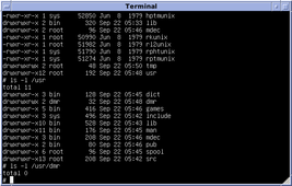 Version 7 Unix SIMH PDP11 Emulation DMR.png