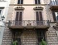 Via gino capponi 44, palazzina del 1909, 02 balconi.jpg