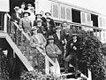 Victor Trumper's Australian Cricket XI team, ca. 1909 (6753289705).jpg