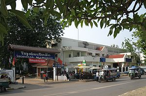 Health in Laos - Mahosot Hospital in Vientiane.