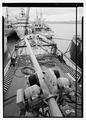 View forward from the bridge deck over boom and hoist. - U.S. Coast Guard Cutter FIR, Puget Sound Area, Seattle, King County, WA HAER WA-167-4.tif