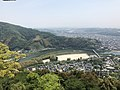 View from Tenshu of Iwakuni Castle (southeast) 3.jpg