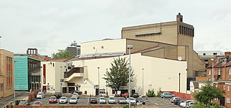 Royal & Derngate - Image: View of Derngate complex Northampton UK