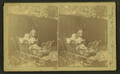 View of a child and a baby in a stroller, from Robert N. Dennis collection of stereoscopic views.png