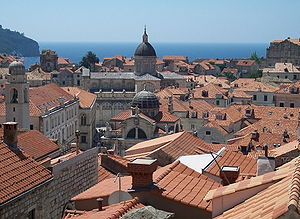 View on Dubrovnik (Croatia).